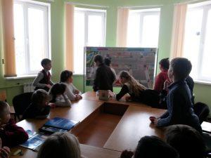 Урок безопасности дорожного движения проведен 02.03.2017г